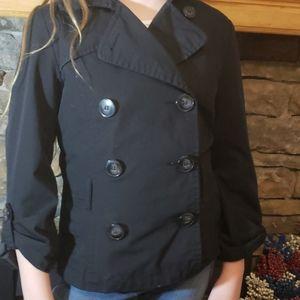 H & M Double Breasted thin jacket/blazer sz 4